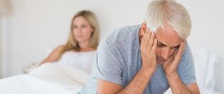 Erectile dysfunction in a man after 60 years